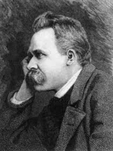 Aldrick Allal - Gravure Nietzsche