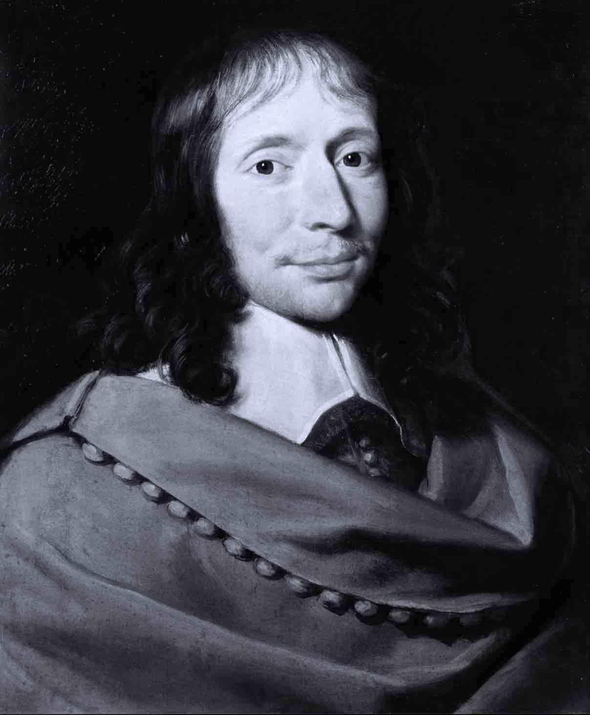 Blaise Pascal - Portrait - Aldrick Allal