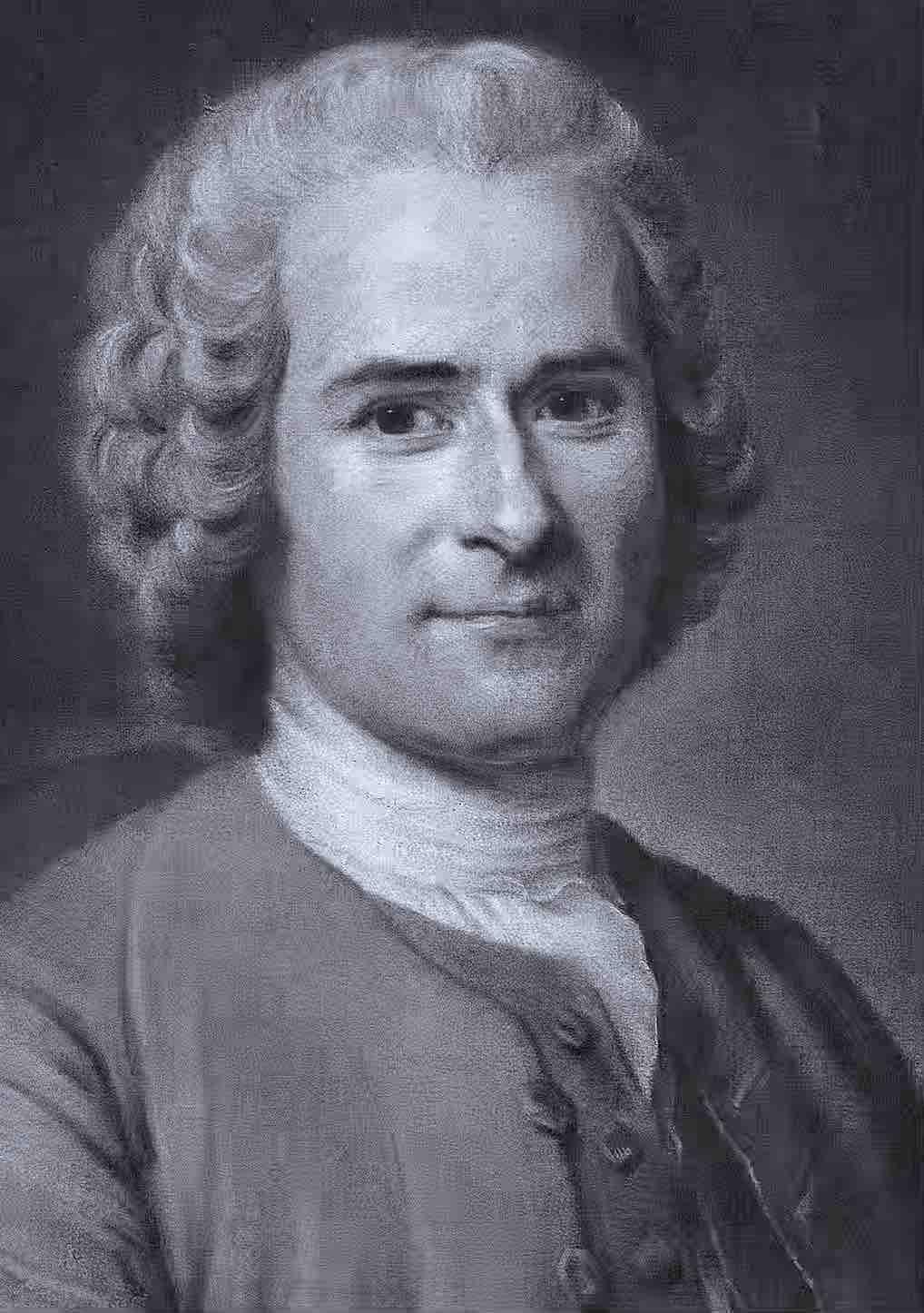 Jean-Jacques Rousseau - Portrait - Aldrik Allal
